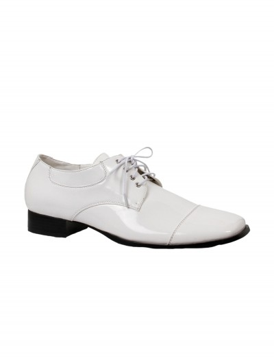 Men's White Dress Shoes, halloween costume (Men's White Dress Shoes)