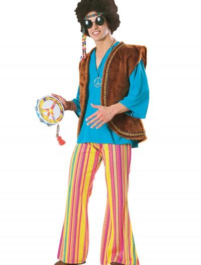 Men's Woodstock Costume, halloween costume (Men's Woodstock Costume)