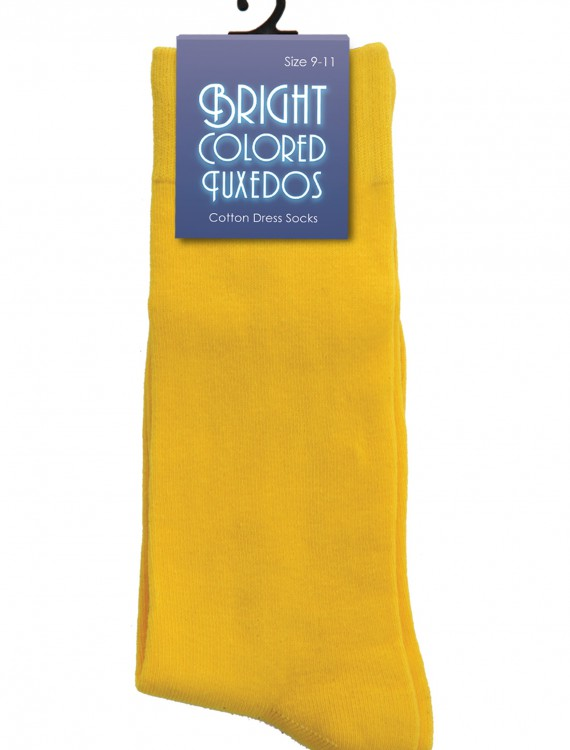 Men's Yellow Socks, halloween costume (Men's Yellow Socks)