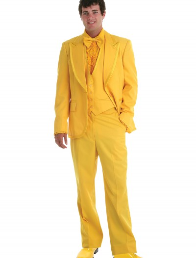 Men's Yellow Tuxedo, halloween costume (Men's Yellow Tuxedo)