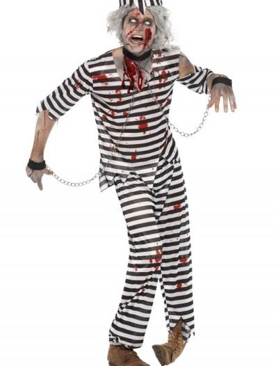 Mens Zombie Convict Costume, halloween costume (Mens Zombie Convict Costume)