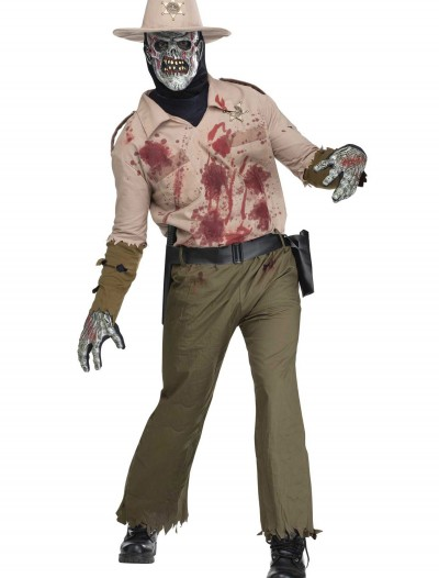 Mens Zombie Sheriff Costume, halloween costume (Mens Zombie Sheriff Costume)