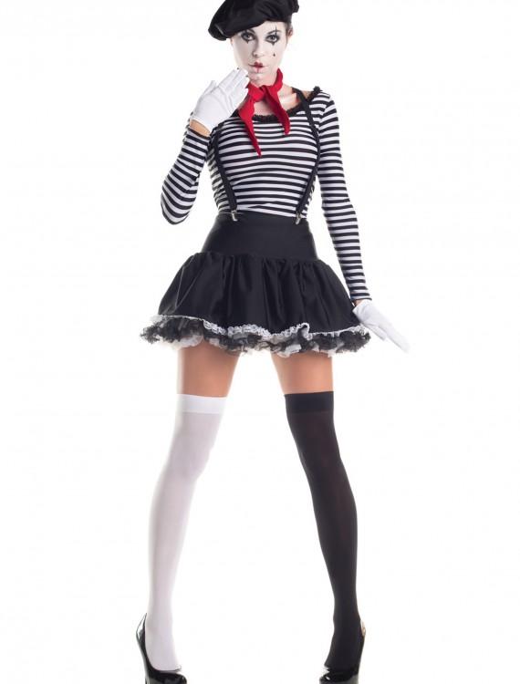 Mesmerizing Mime Costume, halloween costume (Mesmerizing Mime Costume)