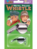 Metal Police Whistle, halloween costume (Metal Police Whistle)