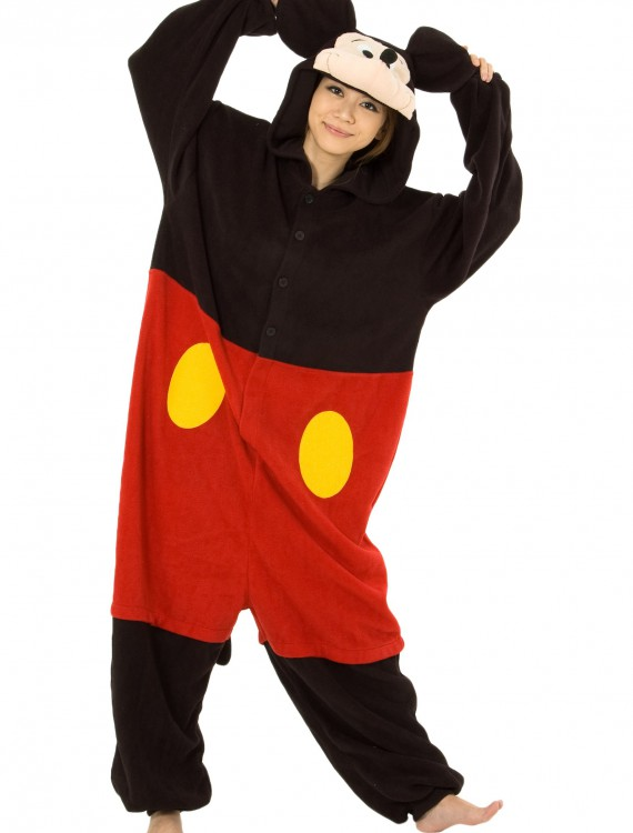 Mickey Mouse Pajama Costume, halloween costume (Mickey Mouse Pajama Costume)