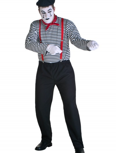 Adult Mime Costume, halloween costume (Adult Mime Costume)