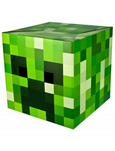 Minecraft Creeper Head, halloween costume (Minecraft Creeper Head)