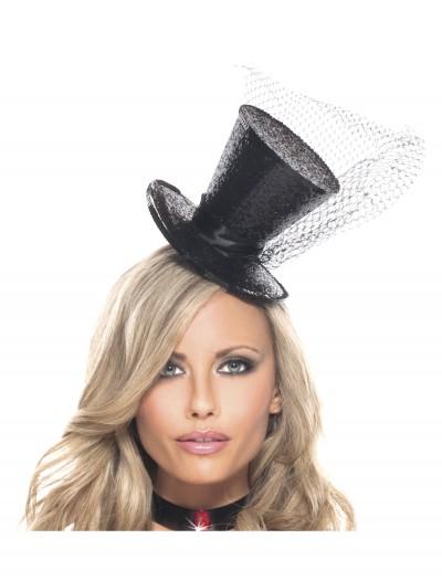 Mini Glitter Top Hat, halloween costume (Mini Glitter Top Hat)