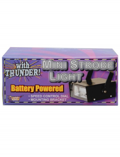 Mini LED Strobe Light with Thunder, halloween costume (Mini LED Strobe Light with Thunder)