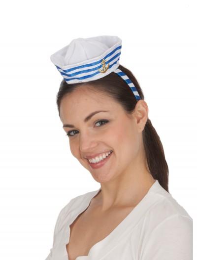 Mini Sailor Hat, halloween costume (Mini Sailor Hat)