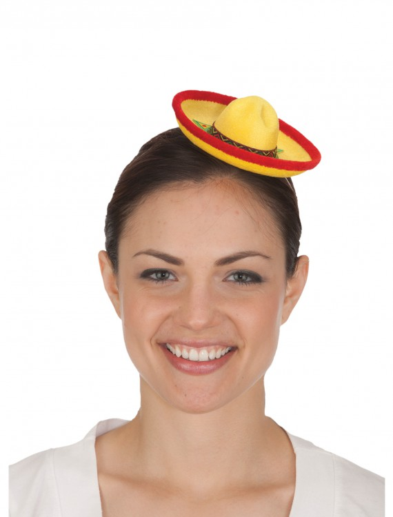 Mini Sombrero Hat, halloween costume (Mini Sombrero Hat)
