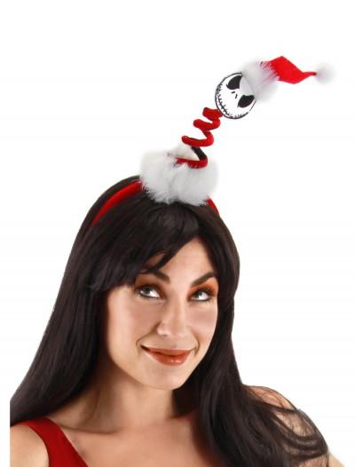 Mini Springy Santa Jack Headband, halloween costume (Mini Springy Santa Jack Headband)