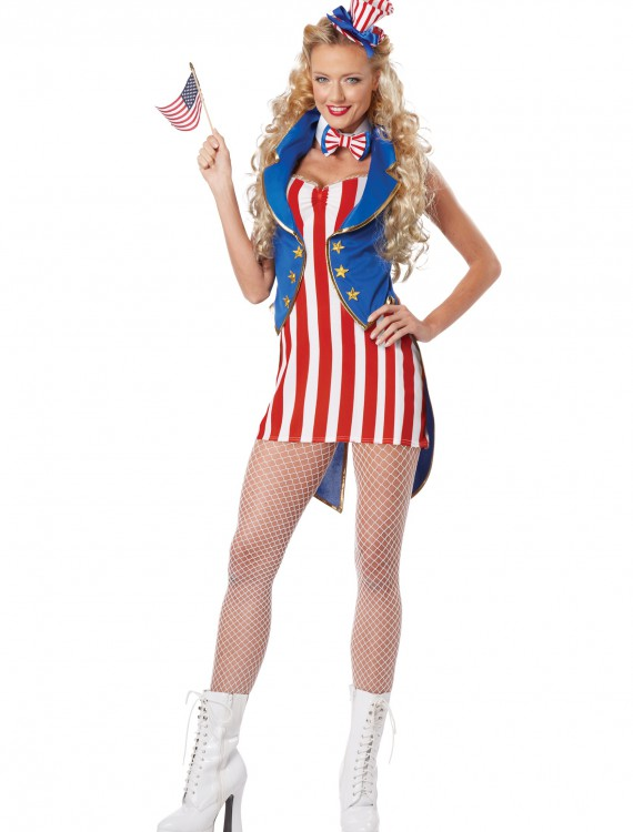 Miss Independence Costume, halloween costume (Miss Independence Costume)