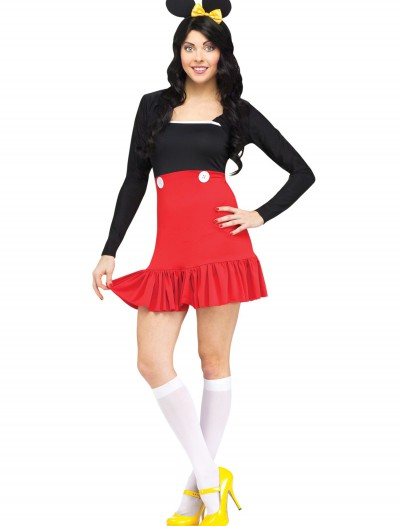 Miss Mikki Adult Costume, halloween costume (Miss Mikki Adult Costume)
