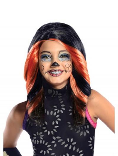 Monster High Skelita Calaveras Child Wig, halloween costume (Monster High Skelita Calaveras Child Wig)