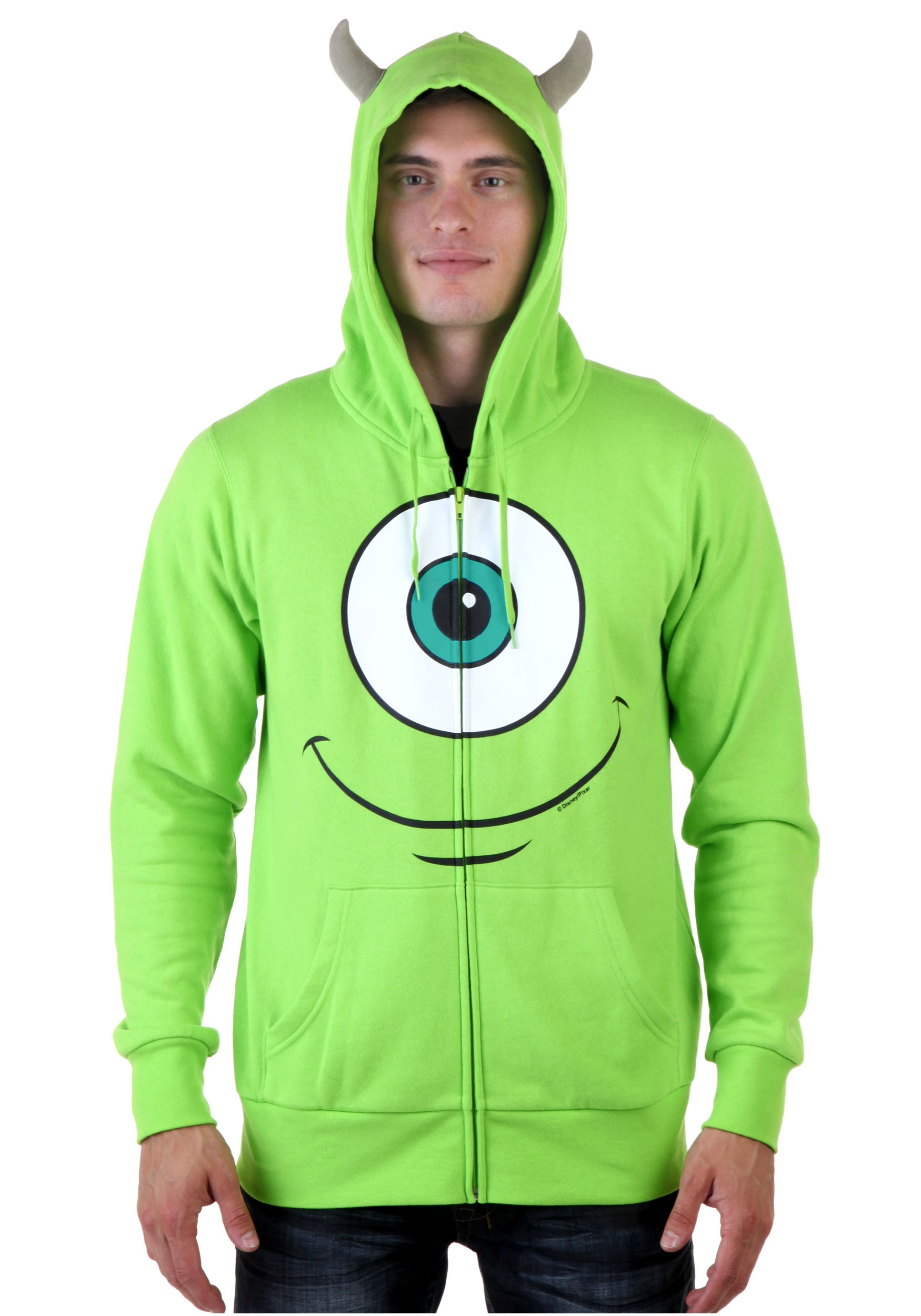Monsters University Mike Hoodie  sc 1 st  Halloween Costumes : mike monsters inc halloween costume  - Germanpascual.Com