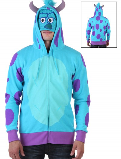 Monsters University Sulley Hoodie, halloween costume (Monsters University Sulley Hoodie)