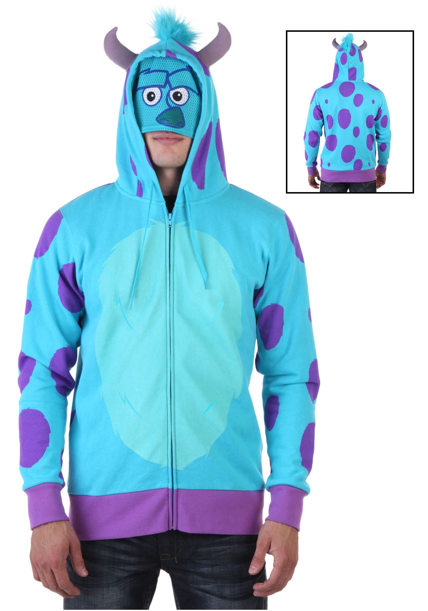 Monsters university sulley hoodie halloween costumes monsters university sulley hoodie voltagebd Image collections