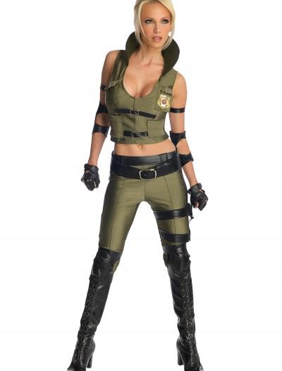 Mortal Kombat Deluxe Sonya Blade Costume, halloween costume (Mortal Kombat Deluxe Sonya Blade Costume)