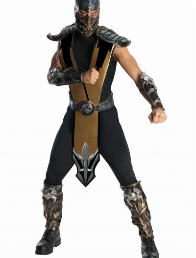 Mortal Kombat Scorpion Costume, halloween costume (Mortal Kombat Scorpion Costume)
