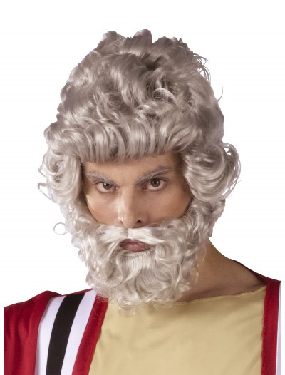 Moses Wig and Beard Set, halloween costume (Moses Wig and Beard Set)