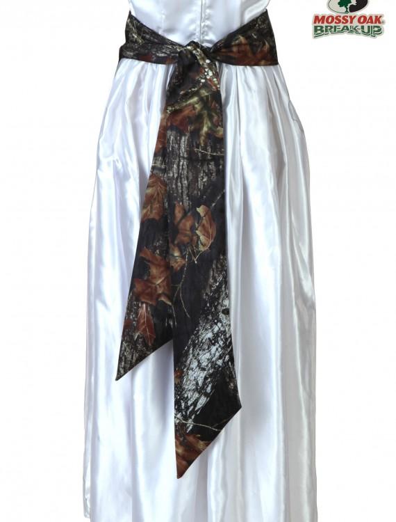 Mossy Oak Bridal Sash, halloween costume (Mossy Oak Bridal Sash)