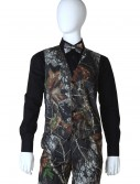 Mossy Oak Open Back Vest, halloween costume (Mossy Oak Open Back Vest)