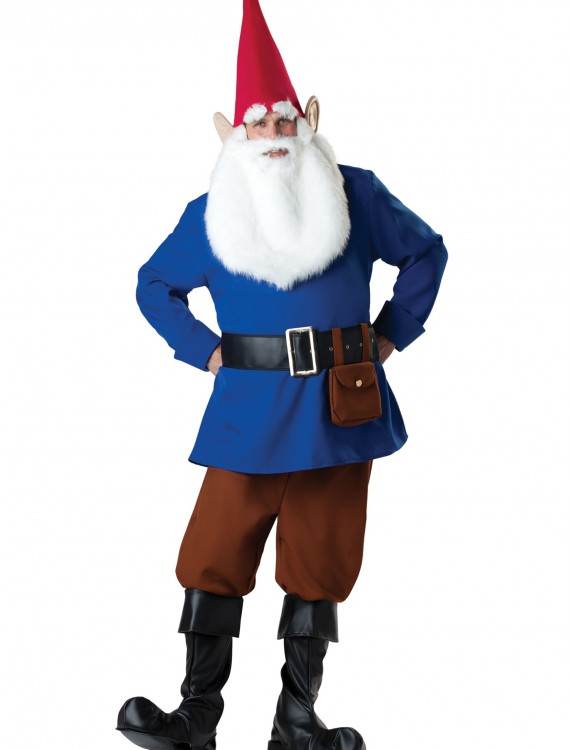 Mr Garden Gnome Costume, halloween costume (Mr Garden Gnome Costume)
