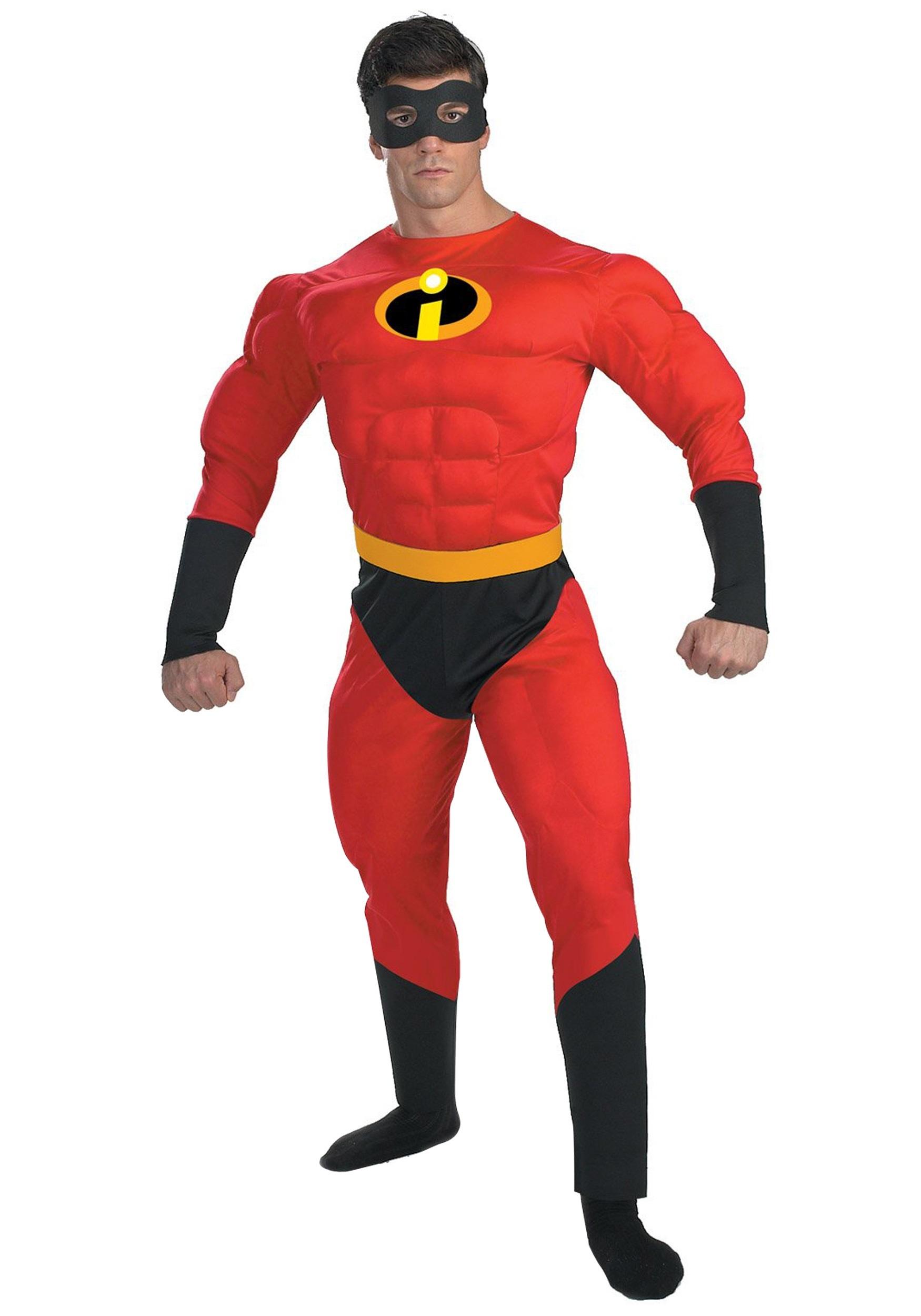 mr incredible deluxe muscle plus size costume