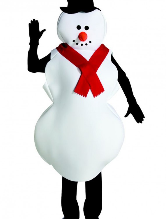 Mr. Snowman Costume, halloween costume (Mr. Snowman Costume)