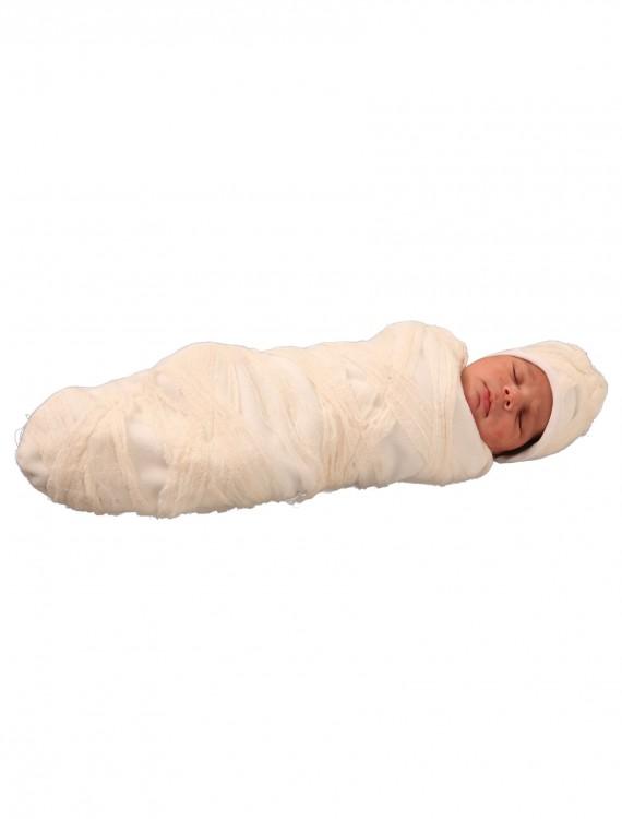 Murphy the Mummy Newborn Bunting, halloween costume (Murphy the Mummy Newborn Bunting)