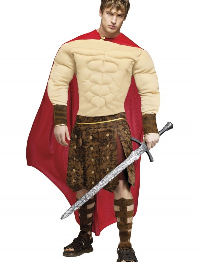 Muscle Chest Gladiator Costume, halloween costume (Muscle Chest Gladiator Costume)