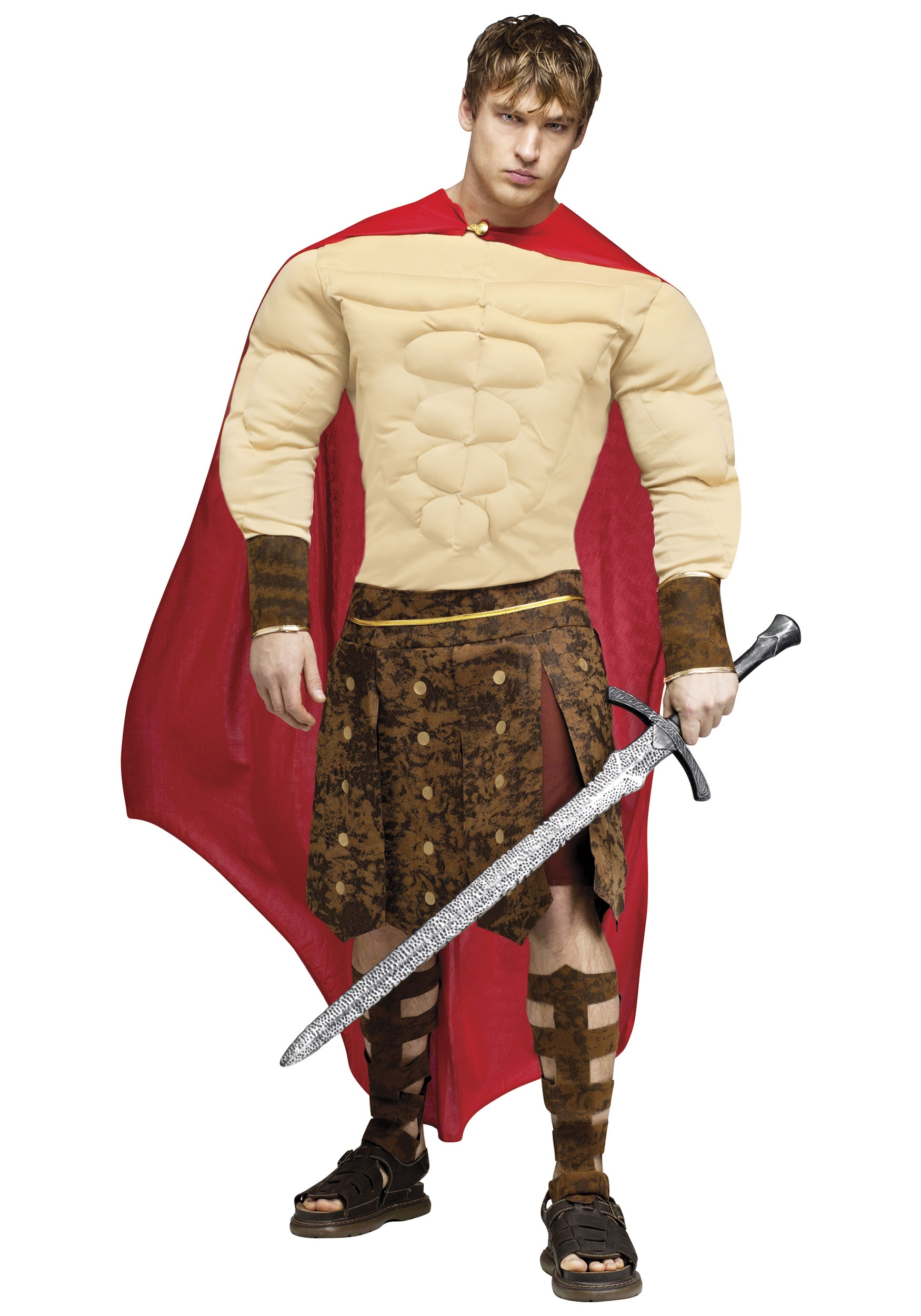 Muscle Chest Gladiator Costume  sc 1 st  Halloween Costumes & Muscle Chest Gladiator Costume - Halloween Costumes