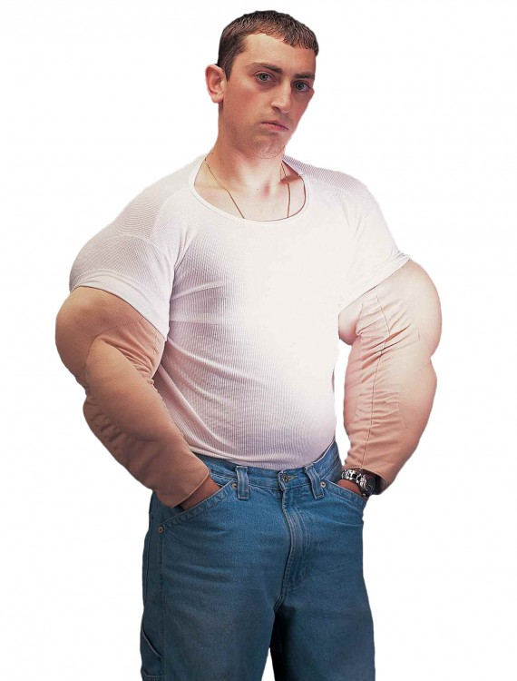 Muscle Man Arms, halloween costume (Muscle Man Arms)