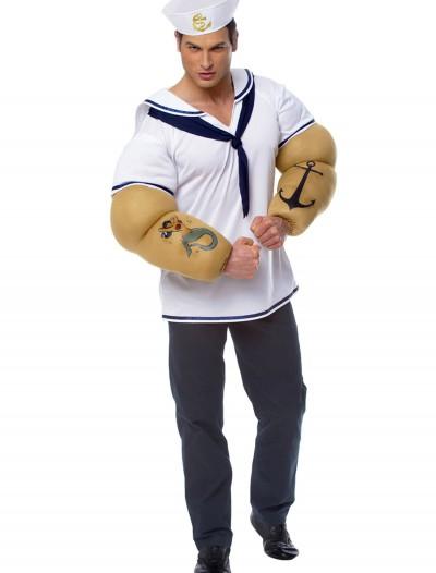 Muscle Sailor Shirt, halloween costume (Muscle Sailor Shirt)