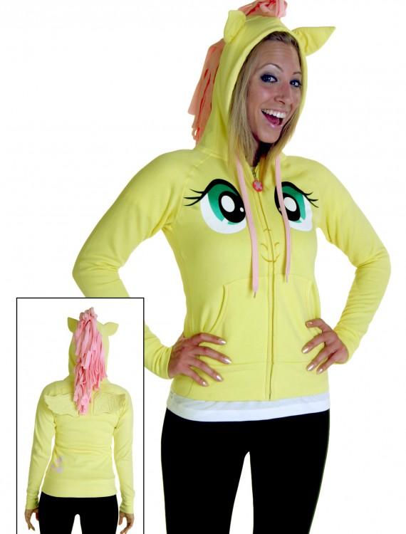 My Little Pony Fluttershy Face Hoodie, halloween costume (My Little Pony Fluttershy Face Hoodie)