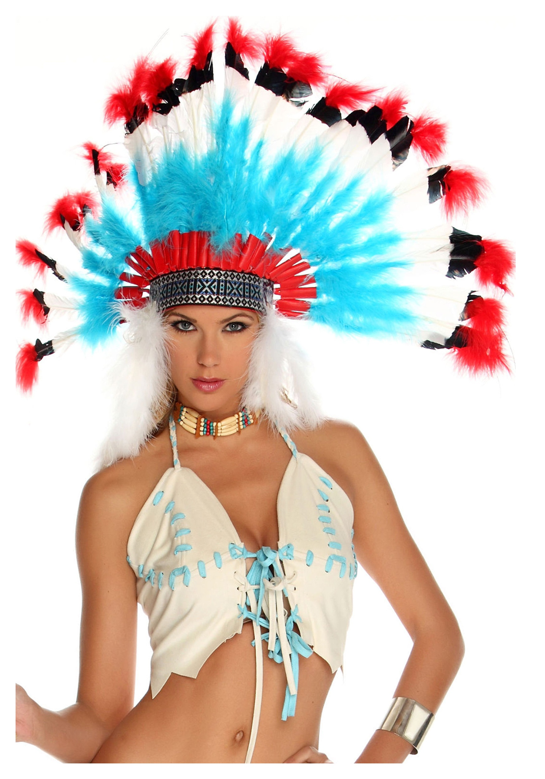 native american headdress - Halloween Native American