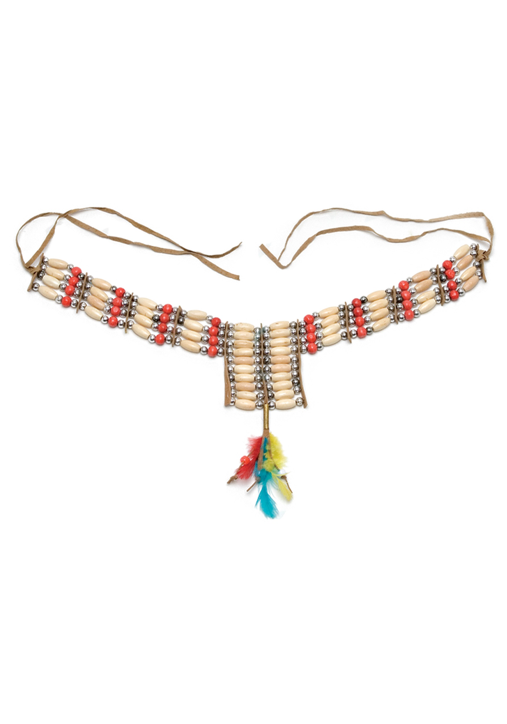 claw pin necklace indian turquoise coral long american native fetish