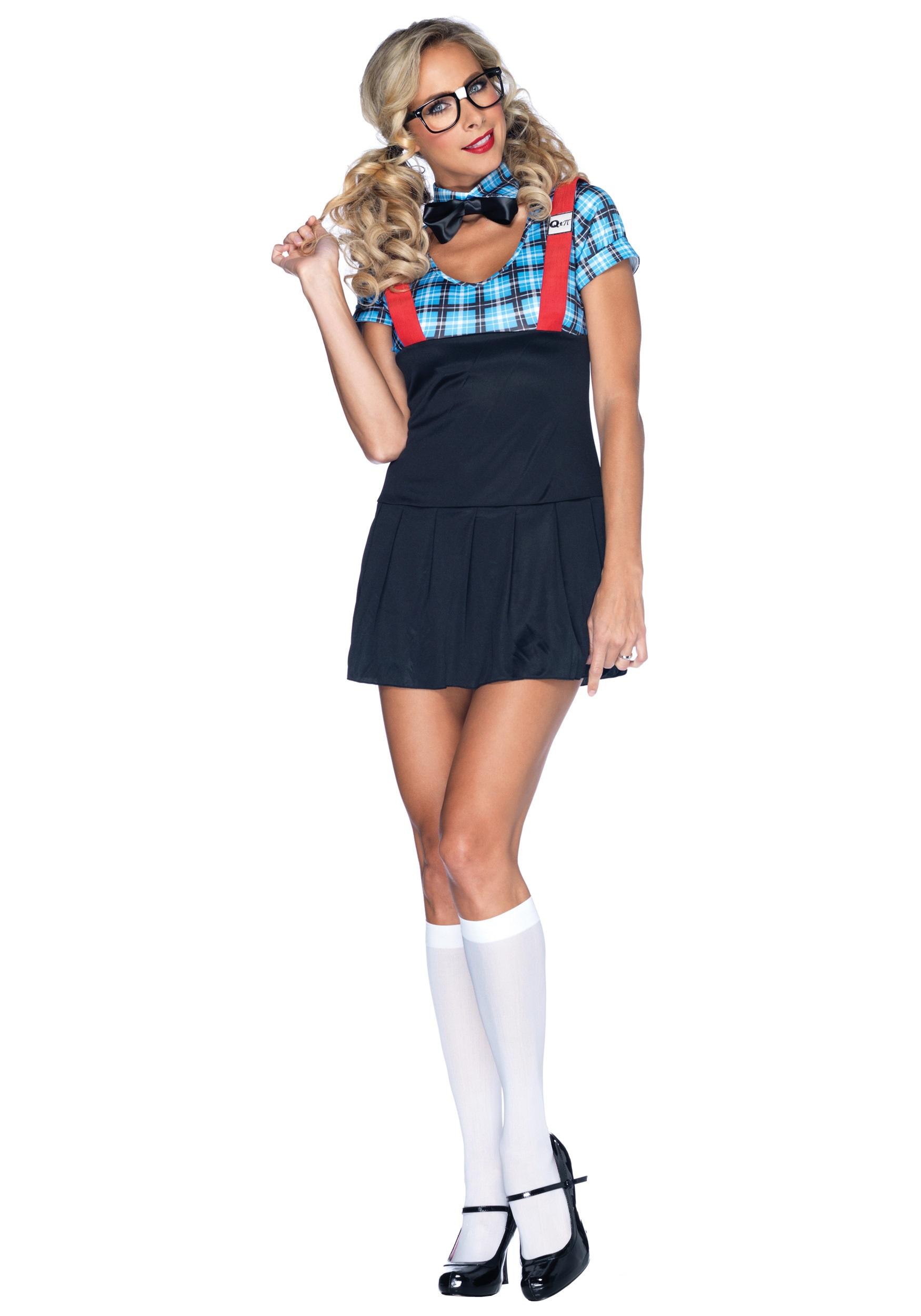 naughty nerd costume