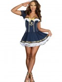 Navy Pin Up Sailor Costume, halloween costume (Navy Pin Up Sailor Costume)
