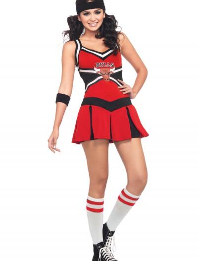 NBA Chicago Bulls Cheerleader Costume, halloween costume (NBA Chicago Bulls Cheerleader Costume)
