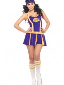 NBA Lakers Cheerleader Costume, halloween costume (NBA Lakers Cheerleader Costume)