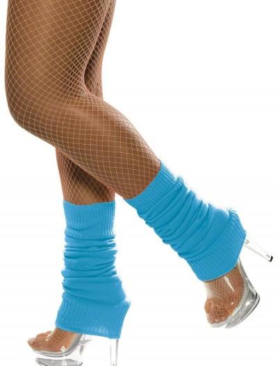 Neon Blue Leg Warmers, halloween costume (Neon Blue Leg Warmers)
