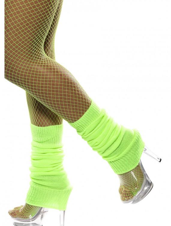 Neon Green Leg Warmers, halloween costume (Neon Green Leg Warmers)