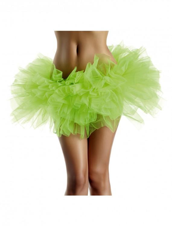 Neon Green Organza Tutu, halloween costume (Neon Green Organza Tutu)