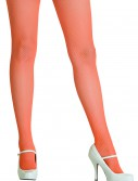 Neon Orange Fishnet Tights, halloween costume (Neon Orange Fishnet Tights)