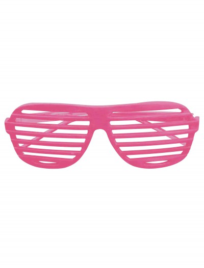 Neon Pink 80s Shades, halloween costume (Neon Pink 80s Shades)