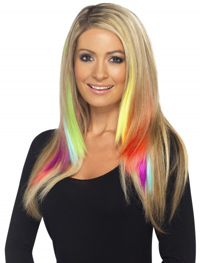 Neon Purple Hair Extension, halloween costume (Neon Purple Hair Extension)