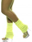 Neon Yellow Leg Warmers, halloween costume (Neon Yellow Leg Warmers)
