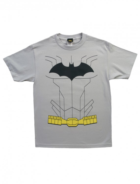 New Batman Costume T-Shirt, halloween costume (New Batman Costume T-Shirt)